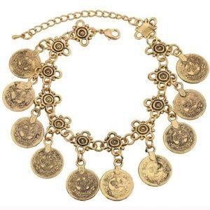 Jewelry | X2 boho bracelets gold (or anklet)